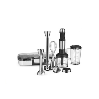 KITCHENAID เครื่องปั่นมือถือ 5KHB2569GSX Hand Blender 5 Speed Stainless Steel