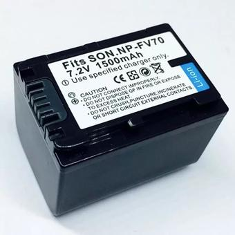 For Sony แบตเตอรี่กล้อง VDO รุ่น NP-FV70 Replacement Battery for Sony