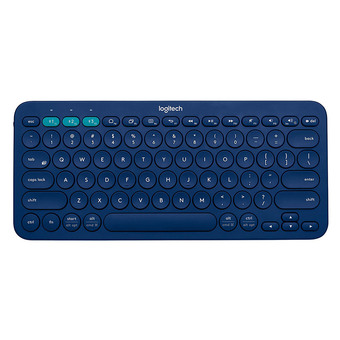 Logitech Multi-Device Bluetooth Keyboard รุ่น K380 (Blue) (Win,Mac,Chrome,Android,iOsAppleTv)