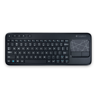 Logitech Wireless Touch Keyboard K400r - AP windows 8