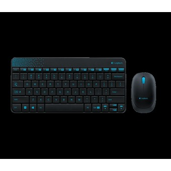 CST Logitech MK240 2.4Ghz Wireless Desktop Mouse and Keyboard Combo Black - Intl