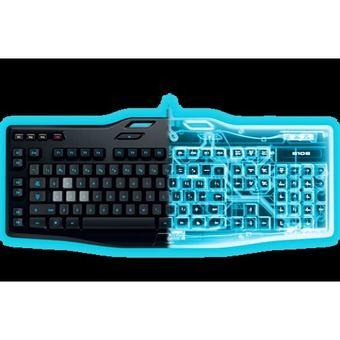 CST Logitech G105 Gaming Keyboard with Backlighting - Intl
