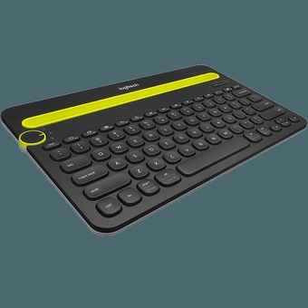 CST Logitech Bluetooth Multi-Device Keyboard K480 Black - Intl