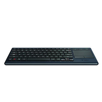 Logitech Illuminated Living-Room Wireless Keyboard K830 and Touchpad for Internet-Connected TVs (Unifying and Bluetooth) (Intl) ร้านค้าดี ราคาถูกสุด - RanCaDee.com