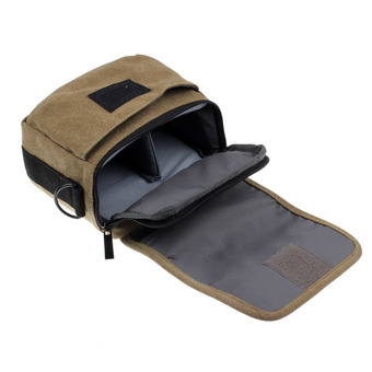 SLR Digital Camera Case Shoulder Bag Backpack For Canon For Sony Brown