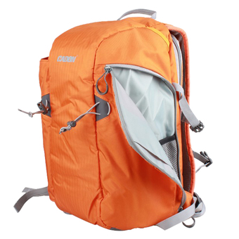 CADEN E5 Sport SLR Camera Backpack (Orange)