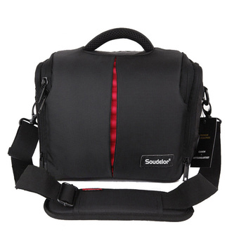 Multifunctional Soudelor Camera Bag Pouch Waterproof Camera Bag For Canon NIKON 70D 700D(Black)