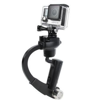 Handheld Video Stabilizer Curve Steadycam Black for Gopro Hero 4 3 Sjcam SJ4000 Xiaomi Yi Action Camera