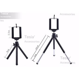 E-chenขาตั้งกล้อง 3 ขา Mini Stand Tripod Mount with Phone Holder For Gopro Camera Digital Camera Self-Timer Smartphones For iphone Samsung