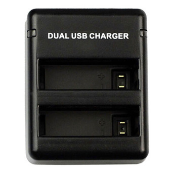 Vanker Dual Port USB Charger Dock Camera Battery AHDBT-401 Charging Kit for GoPro Hero4