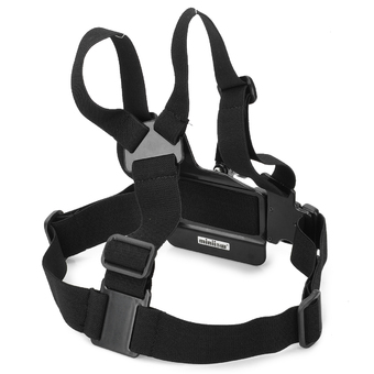 3-Degree-Freedom Chest Belt for Gopro Hero 3 3+ 2 Black