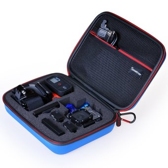 GoPro Smatree SmaCase G160s Compact GoPro Case for Gopro® HD Hero4, 3+, 3, 2, 1 - Blue