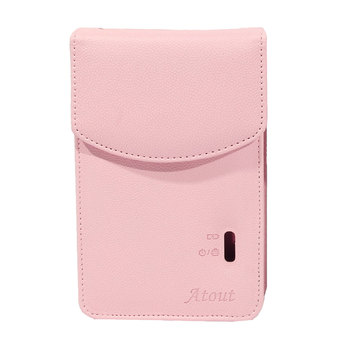 Atout Season 3 Premium Synthetic Leather Cover Case for LG PD251 (Pink)