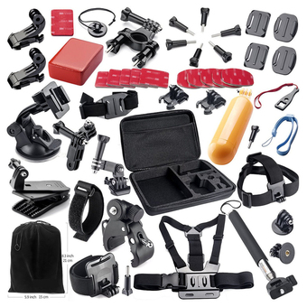 Basic Accessories Bundle Kit for GoPro Hero 4/3+/3/2 SJ4000 SJ5000