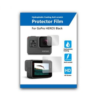 Lens Protective Film + LCD Touch Screen Protector for Gopro Hero 5