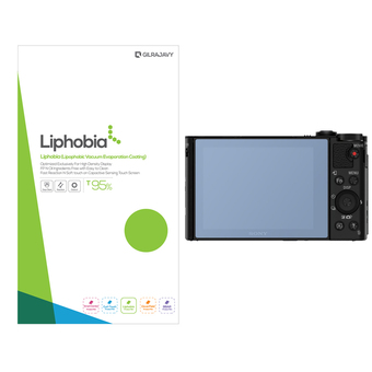 gilrajavy Liphobia Sony DSC-HX80 Camera Screen Protector 2 in1 (Clear)