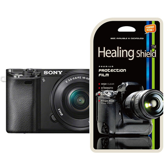 HealingShield Sony Alpha A6000 High Clear Type Screen Protector 2PCS