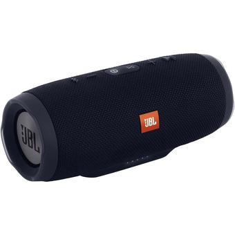 JBL Charge 3 Waterproof Bluetooth Speaker (Black)