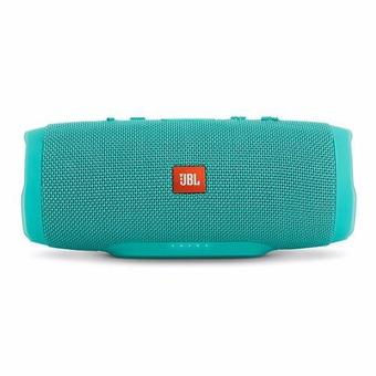 JBL Charge 3 Waterproof Portable Bluetooth Speaker (Teal)(Green)