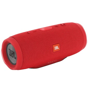 JBL Charge 3 Waterproof Bluetooth Speaker (Red)