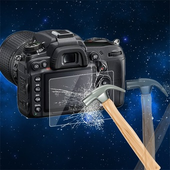 OH Tempered Glass Camera LCD Screen Protector Cover for Nikon D700/D7000 Transparent
