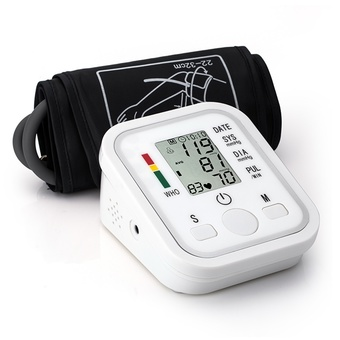 OH Portable Digital LCD Wrist Blood Pressure Monitor Heart Meter Measure NEW Non-voice