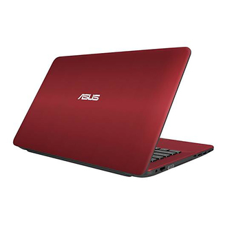 "ASUS X441SA-WX076D Intel® Dual-Core Celeron® N3060 Processor14.0""/SATA 500GB/DDR3 4GB /Free Dos and Carry Bag/Red IMR with hairline"""