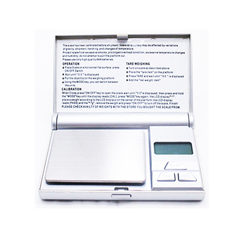 Orbia Digital Scale Professional-Mini 100gx0.01g (Silver)