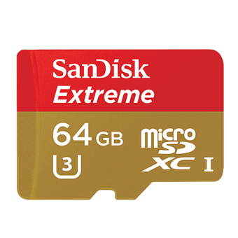 SANDISK DIGITAL MEDIA CARD MICRO SD CARD 64 GB. SDXC CARD EXTREME CLASS10 (SDSQXVF_064G_GN6MA)