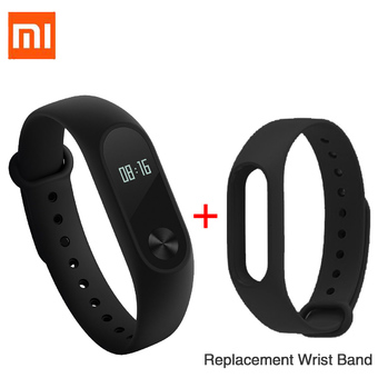 "Xiaomi 0.42"" OLED Touch Screen Mi Band 2 Smart Bracelet Replace Band - Intl"""