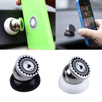 360 Degree Magnetic Car Dashboard Mount Mobile Phone Sticky Magnet Holder Stand