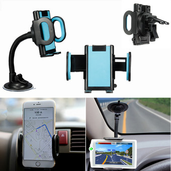 Universal 360�Ã�'�Â�° Car Windscreen Air Vent Holder Mount Stand for Mobile Phone GPS