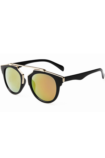 Moonar Vintage UV Protection Sunglasses (Black)