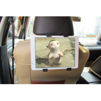 Car Back Seat Headrest Mount Holder For iPad 2 3/4 Air 5 Air 6 ipad mini 1/2/3 AIR Tablet SAMSUNG Tablet PC Stands (Intl)