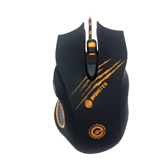 NEOLUTION E-SPORT GAMING GEAR MOUSE MONSTER BLACK ORANGE
