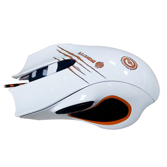 NEOLUTION E-SPORT GAMING GEAR MOUSE MONSTER WHITE ORANGE