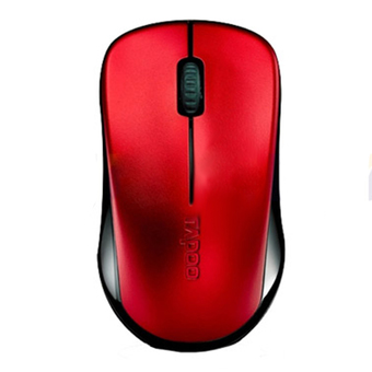 RAPOO MOUSE WIRELESS OPTICAL RED (MS1620-RD)