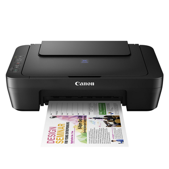 CANON Inkjet Printer Multi Function 3 in 1 รุ่น E410 - Black