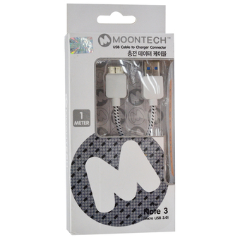 Moontech Datalink Cloth Micro USB 3.0 (BLACK)