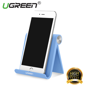 UGREEN Universal Multi-Angle Desk Stand Holder for Cellphone Tablet (Blue) - Intl