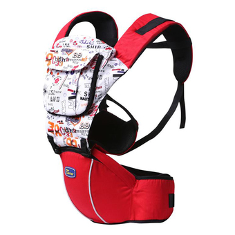 Hot Selling Multi-Fuctional Baby Carriers Shoulders Backpack With Numbers-Red