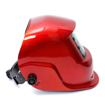 Auto Darkening Solar Welders Welding Helmet Mask with Grinding Function Red