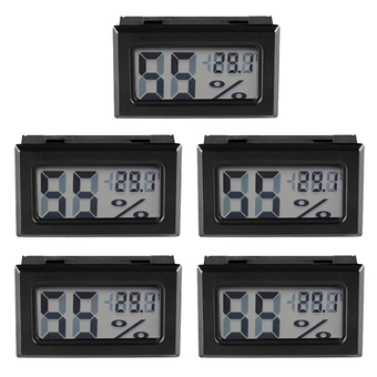 XCSOURCE 5pcs Digital LCD Indoor Temperature Humidity Meter Thermometer Hygrometer BI597 - intl