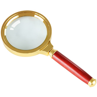 Moonar Handheld 10X Magnifier Magnifying Glass Loupe Reading Jewelry (Intl)