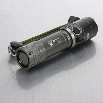 Ultrafire CREE XM-L T6 2000LM 3 Modes Zoomable White Flashlight Gun Color - Intl