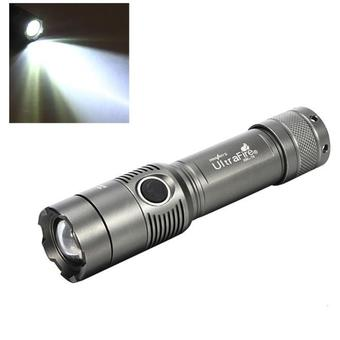 Bigskyie 3000Lm UltraFire CREE XML T6 LED Zoomable 18650 AAA Flashlight Torch Light Lamp Gray free shipping