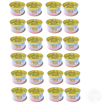Fancy Feast Gourmet Cat Food-Kitten Tender Ocean Whitefish Feast 85 g x 24 canned อาหารลูกแมว (050000574988-24)