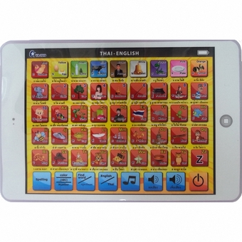 MOMMA Mini Tablet LED Study Thai English For Fun ระบบสัมผัส