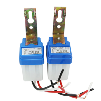 2x Automatic Auto On Off Light Switch Photo Control For AC 12V Sensor