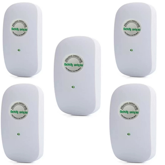 5PCS Crony 30000W Power Electricity Saving Box Saver Electricity Voltage 90V-250V(White)